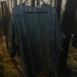 Roxy short kimono